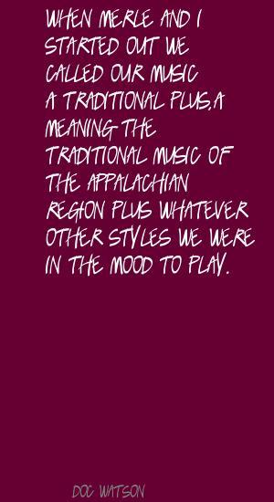 Doc Watson's quote #3