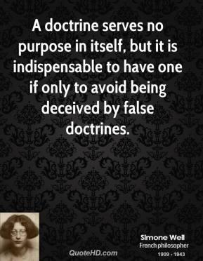 Doctrine quote #1