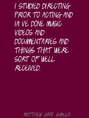 Documentaries quote #1