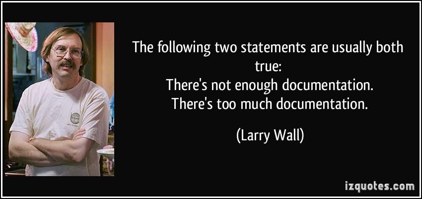 Documentation quote #2
