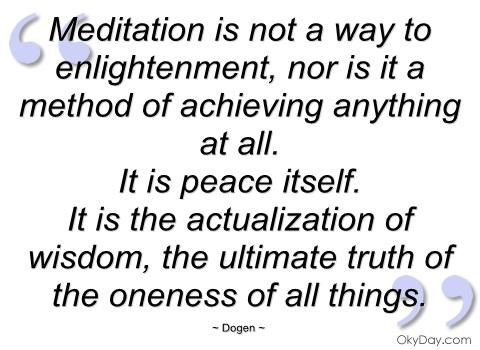 Dogen's quote #1
