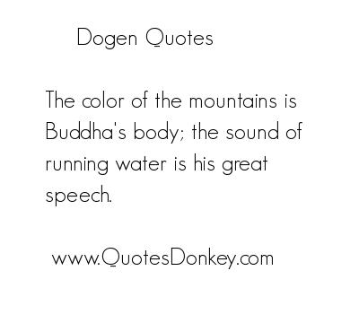 Dogen's quote #3
