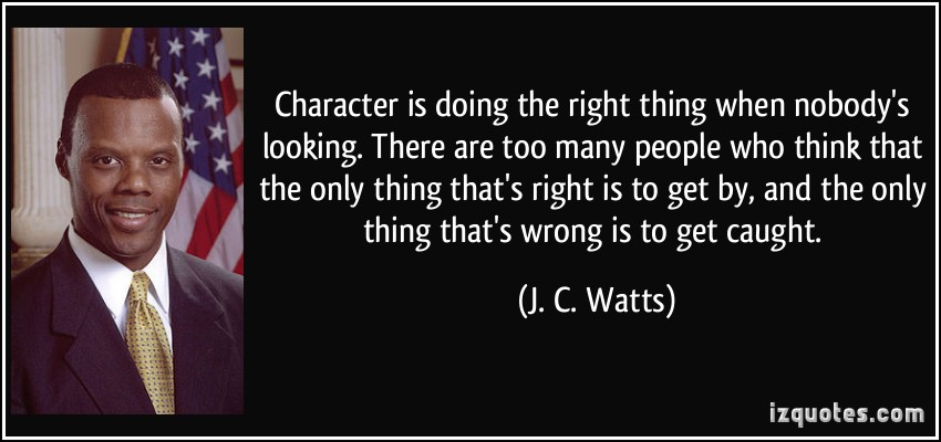 Doing The Right Thing quote #2
