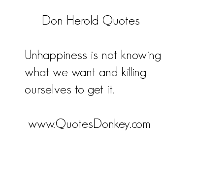 Don Herold's quote #7
