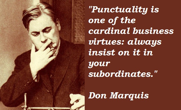 Don Marquis's quote #1