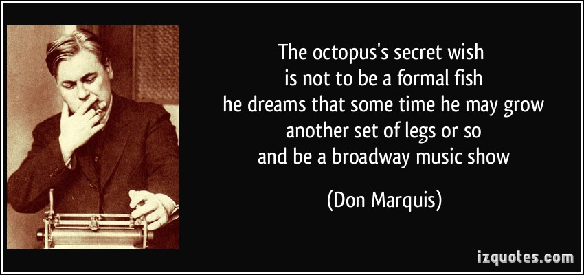 Don Marquis's quote #7