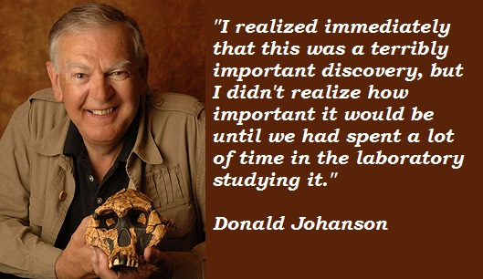 Donald Johanson's quote #1