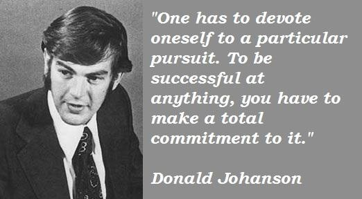 Donald Johanson's quote #6