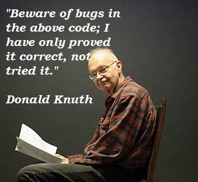 Donald Knuth's quote #7