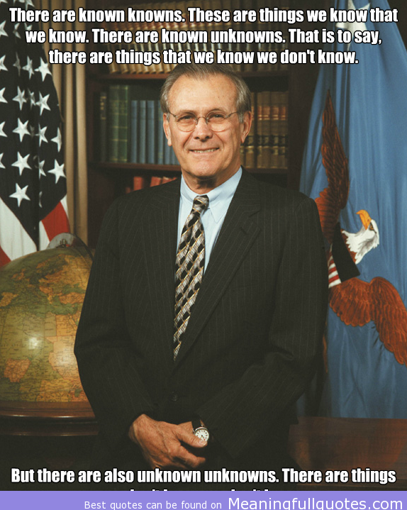 Donald Rumsfeld's quote #7