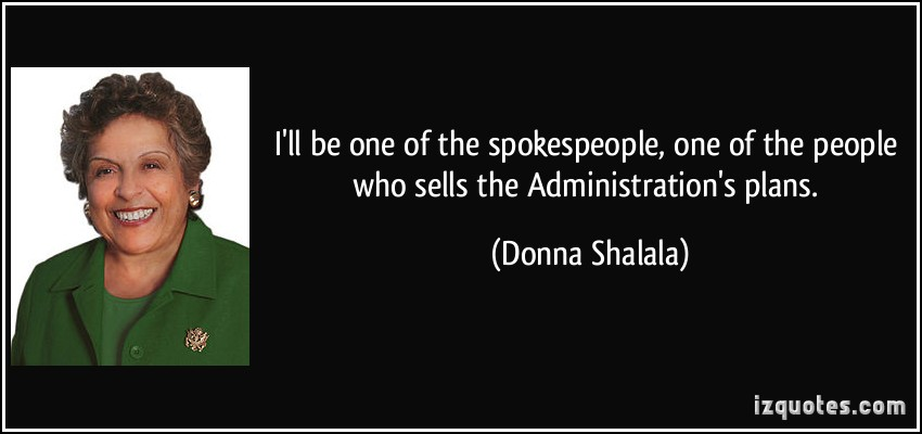 Donna Shalala's quote #1