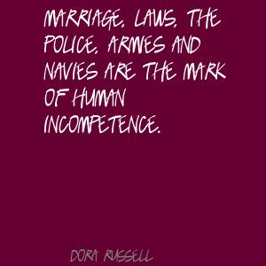 Dora Russell's quote #3