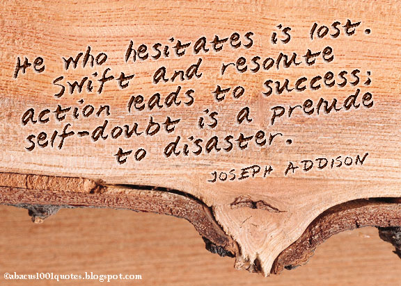 Doubts quote #1