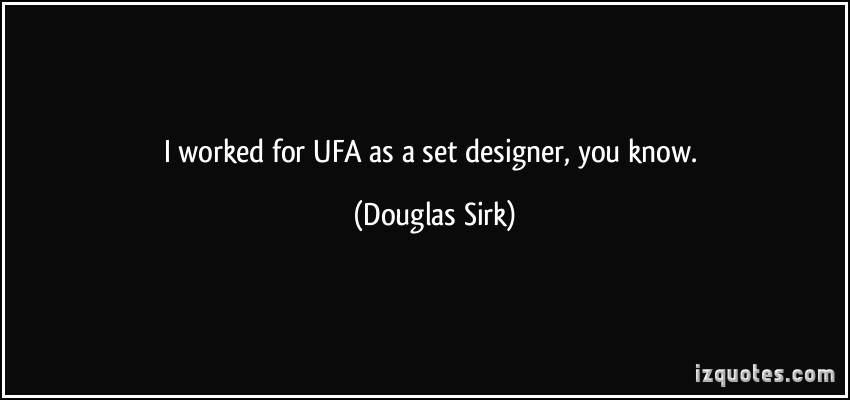 Douglas Sirk's quote #6