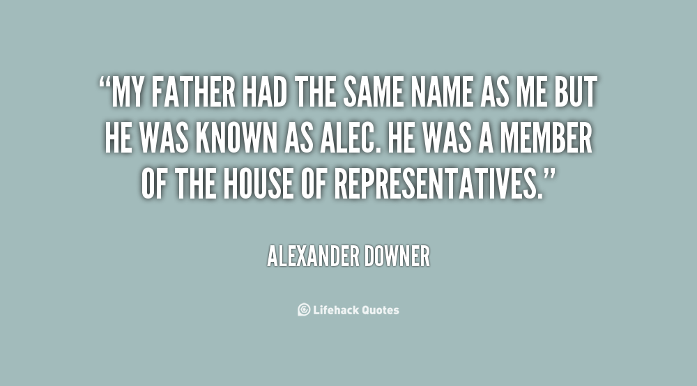 Downer quote #2