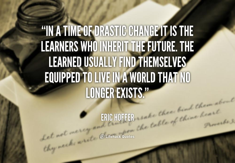 Drastic quote #1