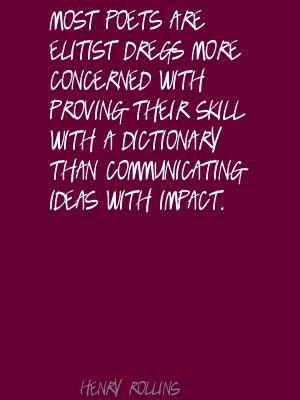 Dregs quote #2