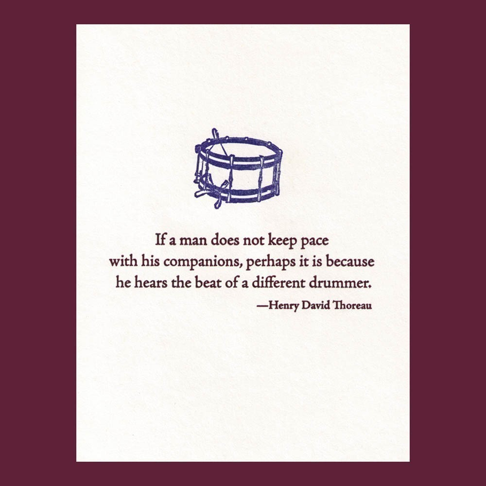 Drummer quote #2