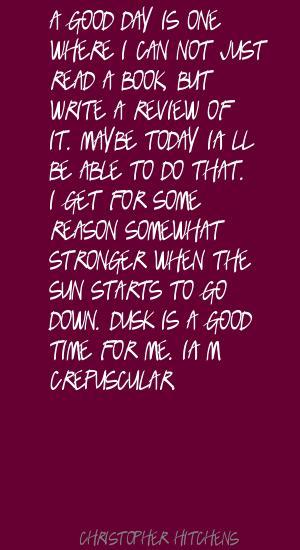 Dusk quote #2
