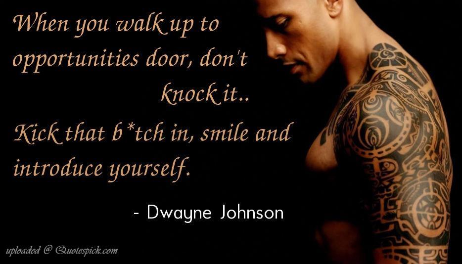 Dwayne Johnson's quote #7