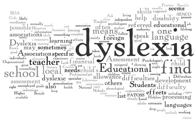 Dyslexic quote #3