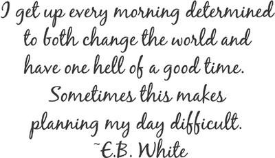 E. B. White's quote #4