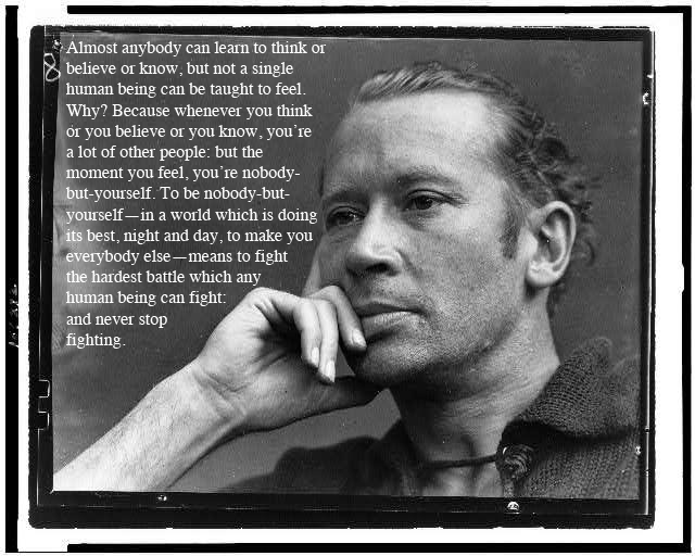 e. e. cummings's quote #7