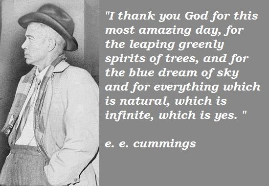 e. e. cummings's quote #5