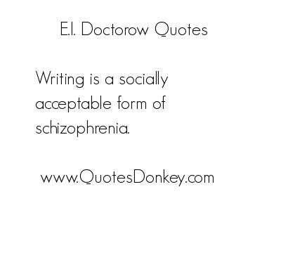 E. L. Doctorow's quote #8