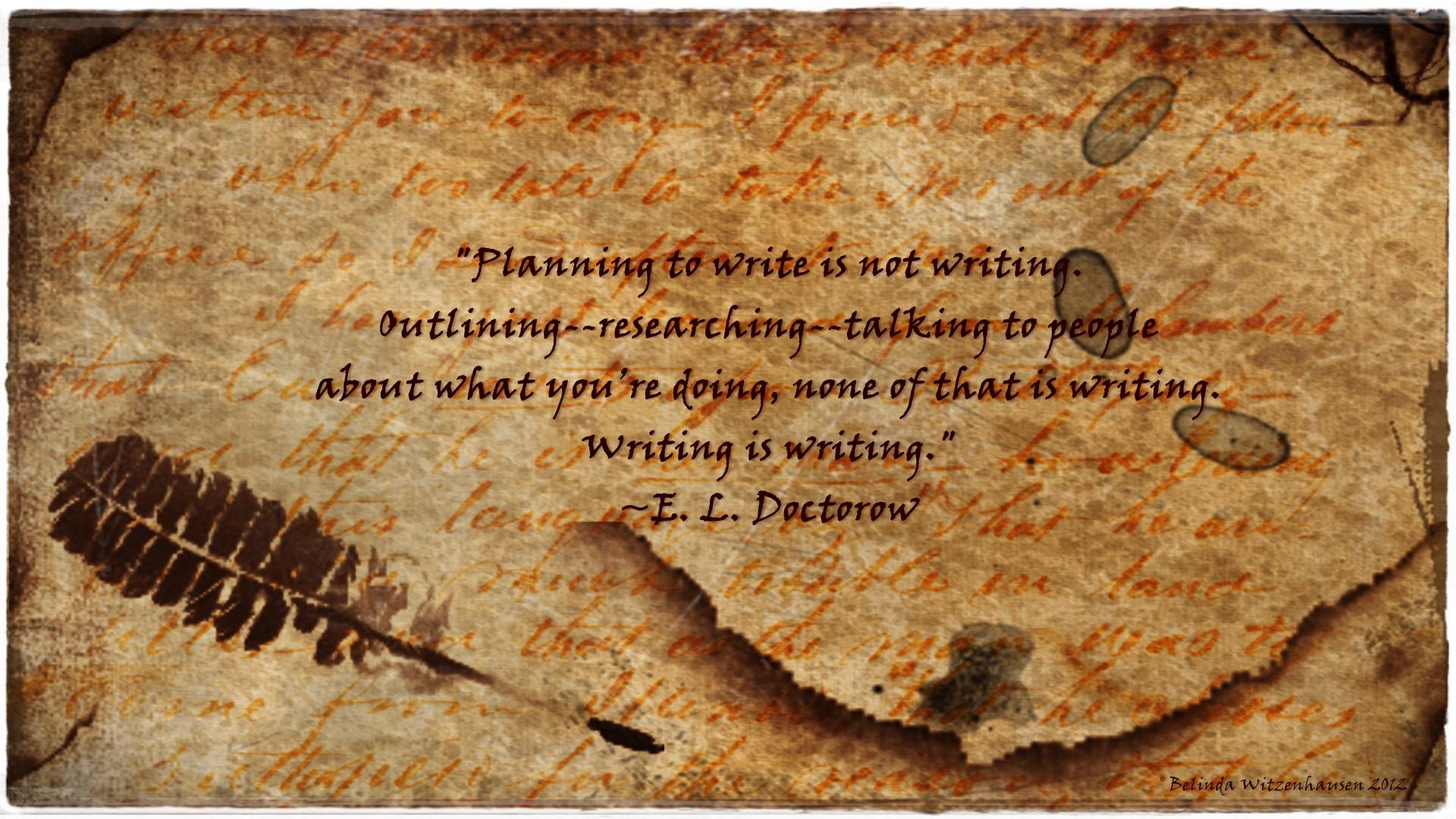 E. L. Doctorow's quote #1