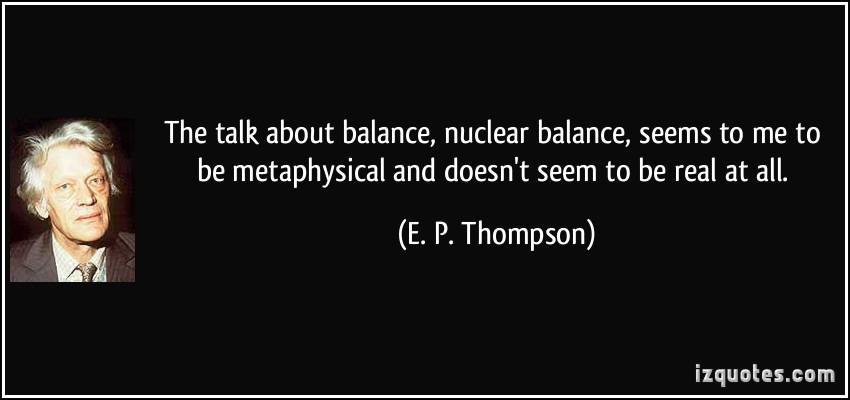 E. P. Thompson's quote #1