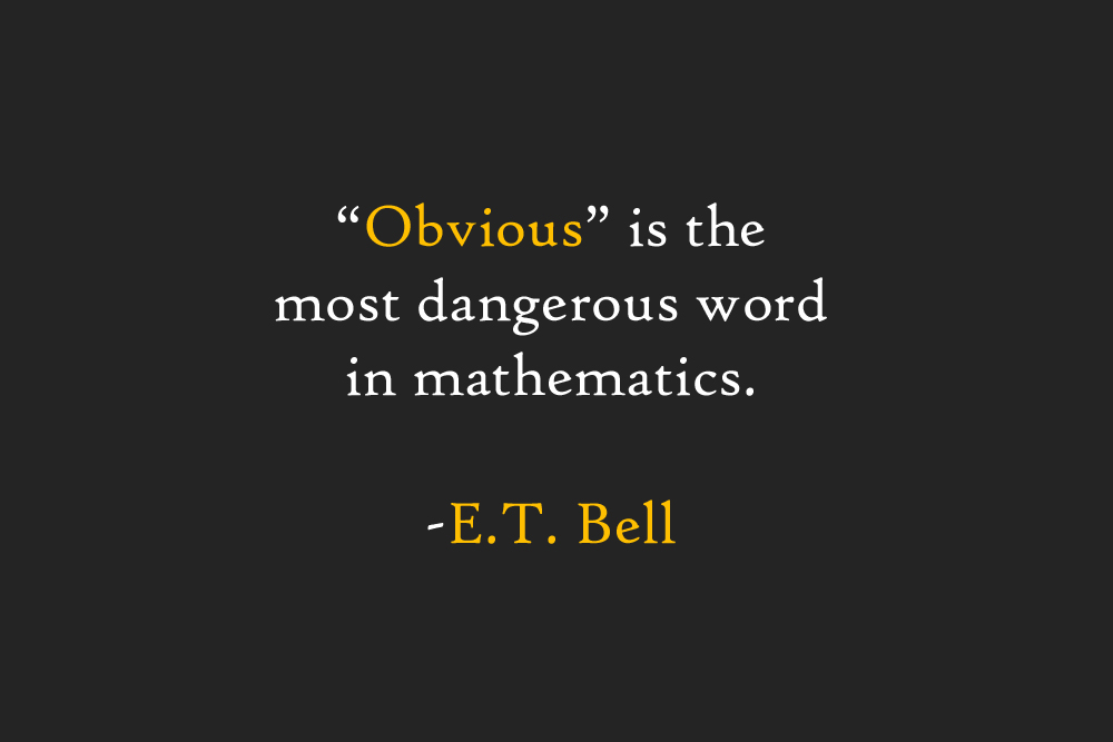 E. T. Bell's quote #5
