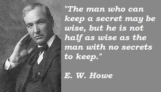 E. W. Howe's quote #7