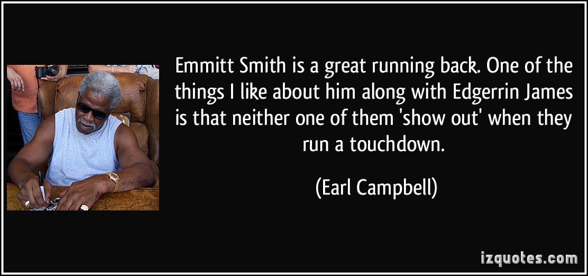 Earl Campbell's quote #4