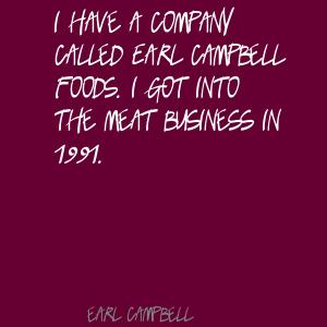 Earl Campbell's quote #5
