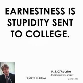 Earnestness quote #2
