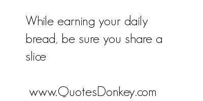 Earning quote #2