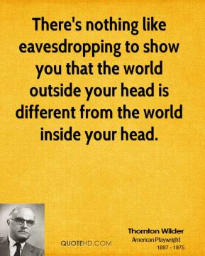 Eavesdropping quote #1