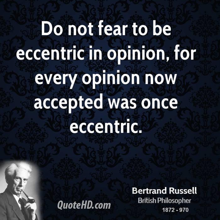 Eccentric quote #5