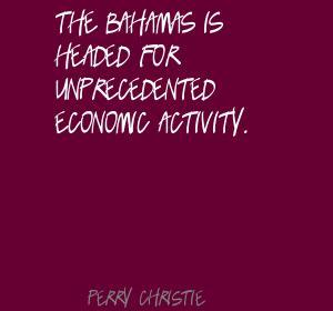 Economic Activity quote #2