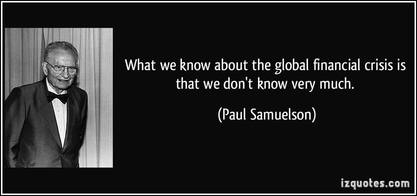 Economic Crisis quote #1