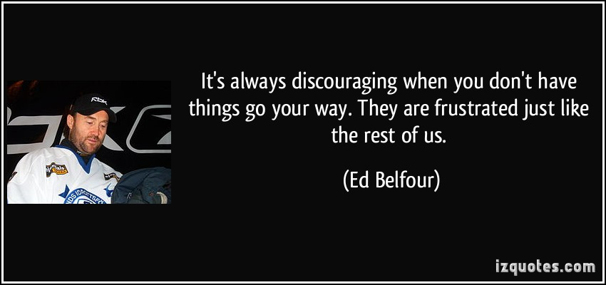 Ed Belfour's quote #2