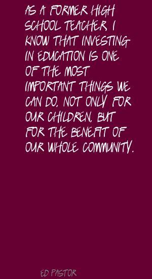 Ed Pastor's quote #4