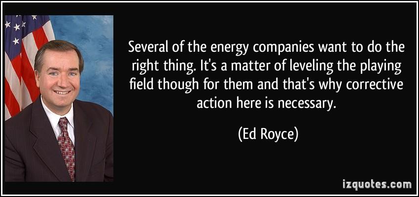 Ed Royce's quote #2