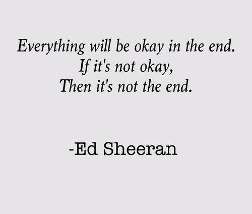 Ed Sheeran's quote #1