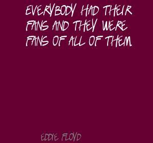 Eddie Floyd's quote #1