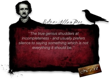 Edgar Allan Poe's quote #1