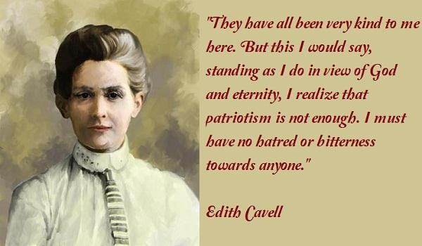 Edith Cavell's quote #8