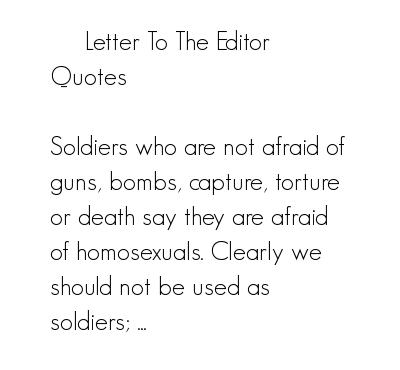 Editor quote #1