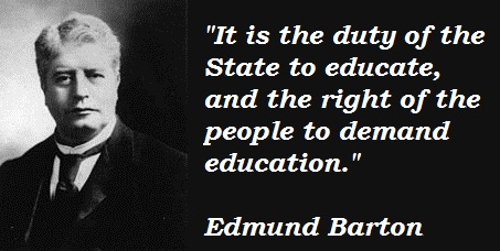 Edmund Barton's quote #1